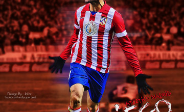Diego Costa Atlético Madrid Wallpapers