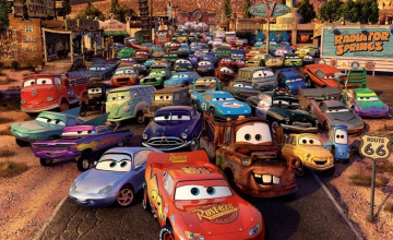 Disney Cars Wallpaper
