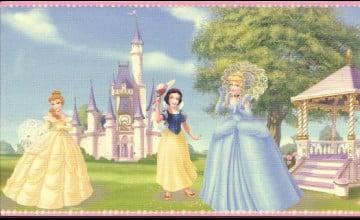 Disney Castle Wallpaper Border