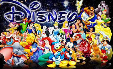 Disney Character Backgrounds