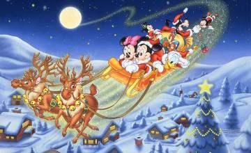 Disney Christmas Background