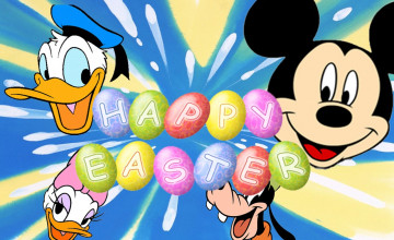 Disney Easter Wallpaper