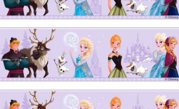 Disney Frozen Wallpaper Border