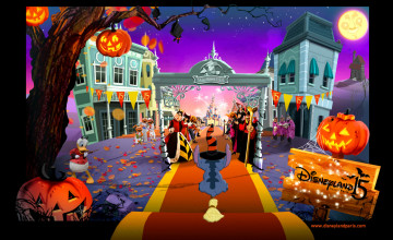 Disney Halloween Computer Wallpaper