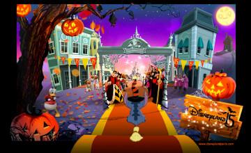 Disney Halloween Screensavers and Wallpaper