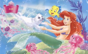 Disney Princess Ariel Wallpaper