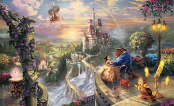 Disney Thomas Kinkade Wallpaper HD