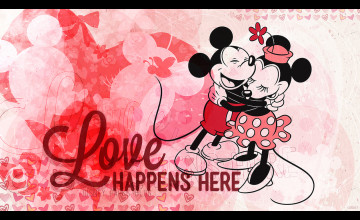 Disney Valentine Wallpaper