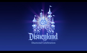 Disneyland 60th Anniversary Wallpaper
