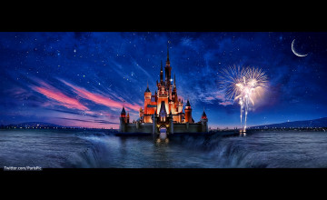 Disneyland Castle Wallpaper
