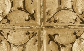 Distressed Tin Wallpaper