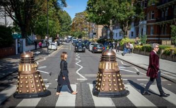 Doctor Who Abbey Road Wallpaper