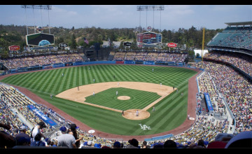 Dodgers Stadium Wallpaper