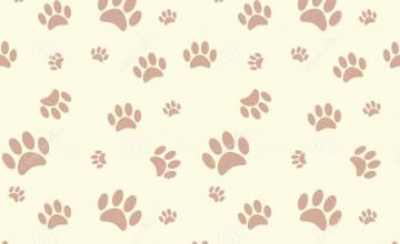 Dog Print Wallpaper