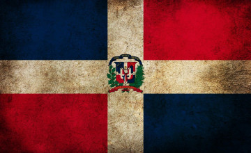 Dominican Flag Wallpaper