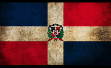Dominican Republic Flag Wallpapers