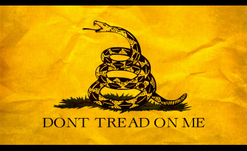 Don't Tread On Me Wallpaper