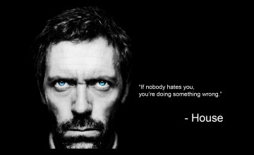 Dr House Wallpaper