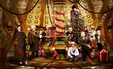 Dr Who Christmas Wallpaper