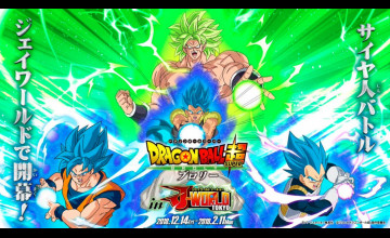 22 Dragon Ball Super Broly Movie Wallpapers On Wallpapersafari