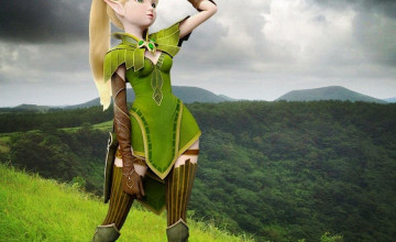 Dragon Nest: Throne Of Elves Wallpapers