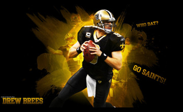 Drew Brees HD Wallpaper