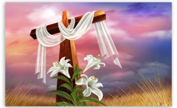 Easter Cross Wallpaper