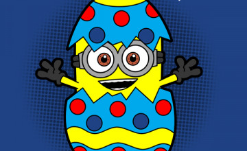 Easter Minion Wallpaper