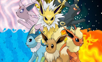 Eevee Evolutions Wallpaper