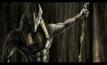 Egyptian God Wallpaper