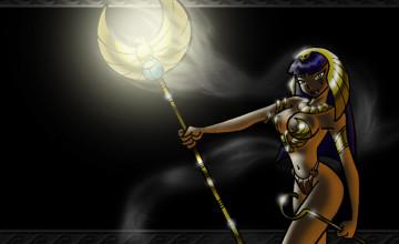 Egyptian Goddess Wallpaper