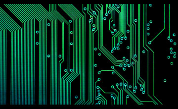 Electronic Circuit Wallpaper