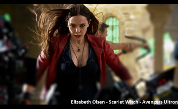 Elizabeth Olsen Scarlet Witch Wallpaper
