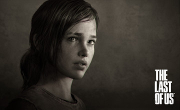 Ellie Last of US Wallpaper
