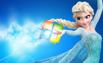 Elsa Wallpaper for Windows Laptop