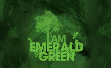 Emerald Green Wallpaper