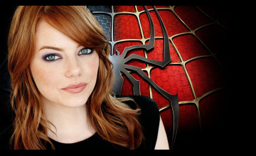 Emma Stone iPhone Wallpaper