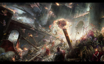 Epic Battle Wallpaper