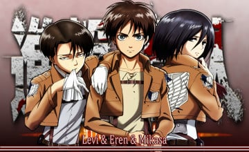 Eren and Levi Wallpaper