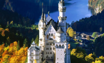 European Castles Wallpaper