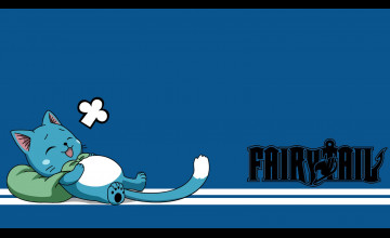 Fairy Tail Happy Wallpaper