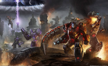 Fall Of Cybertron Wallpaper
