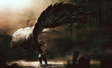 Fallen Angel Backgrounds