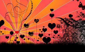 Falling In Love Wallpaper