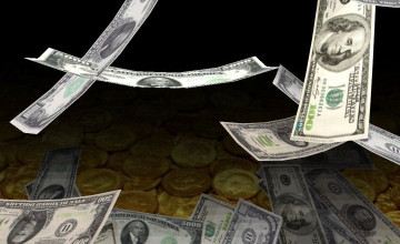 Falling Money Live Wallpaper