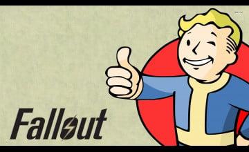 Fallout 4 Vault Boy Wallpaper