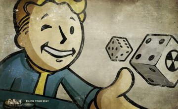 Fallout Vault Boy Wallpaper