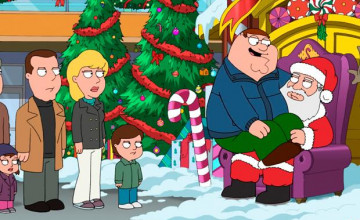 Family Guy Christmas Wallpaper