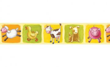 Farm Animal Wallpaper Border