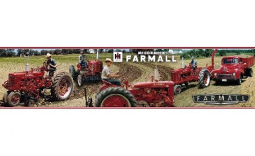 49 international harvester wallpaper on wallpapersafari - Farmall tractor wallpaper border ...